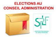 cartouche actualites elections
