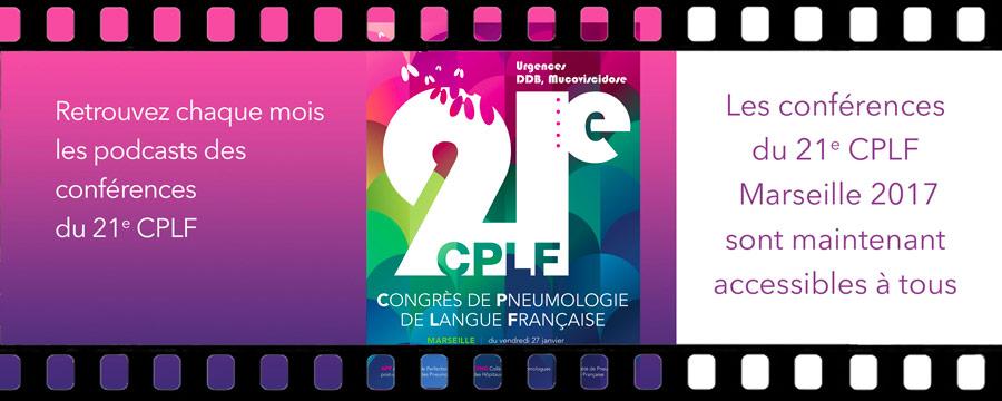 Les vidéos des conférences du CPLF 2017  sont accessibles à tous