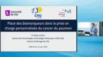 Place des biomarqueuyrs dans le cancer du poumon
